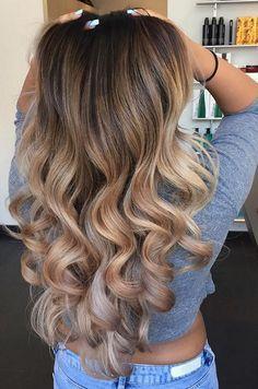44 Cute Balayage Hair Color Ideas 2018