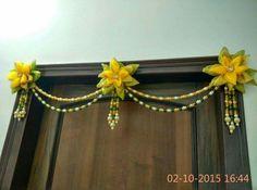 Mummy no room Diwali Decorations, Festival Decorations, Handmade Decorations, Flower Decorations, Diwali Diya, Diwali Craft, Diy Arts And Crafts, Diy Crafts, Ganapati Decoration