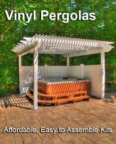 pergola ... over large table??? ... spa ??