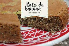 Bolo de banana saudável (sem farinha, sem leite e sem açúcar) – Blog do Casamento