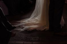 Brides dress and veil. Fine art wedding photographer, Harrogate www.toastofleeds.co.uk