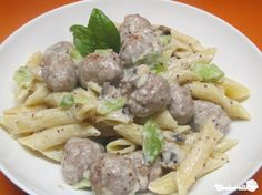 Penne mit Bratwurstbällchen in Senf-Sahne-Sauce | Cookarella – Rezepte, kreatives Kochen und mehr! ♥