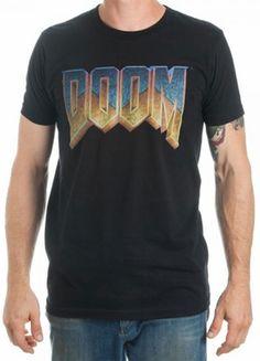 Official Doom Logo T-Shirt