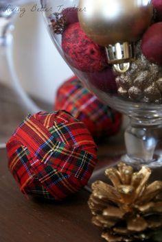 Holiday Rag Balls - Living Better Together