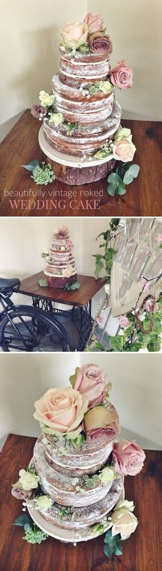 A Naked Wedding Cake and Vintage Tearooms - Gym Bunny Mummy
