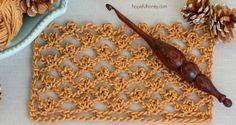 Como hacer el Punto red con picot en crochet - Tutorial fácil - Manualidades Y DIYManualidades Y DIY