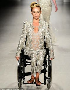 So about what I said...: Disabilities In The Media: Models in wheelchairs hit the catwalk
