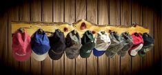 Live Edge Rustic Knotty Cedar 10 Peg Shotgun Shell Wall Hat Coat Rack Home Decor Gift #rustichomedecor