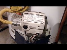 How to light a HONEYWELL water heater pilot - YouTube