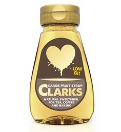 Clarks Carob Fruit Syrup - ClarksIt Syrup, Clarks, Health Benefits, Fruit, Bottle, Products, Flask, Simple Syrup, Gadget