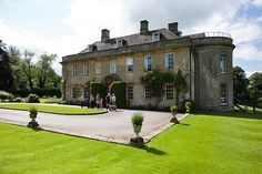 Babbington House near Bath, funky hotel owned by the Soho House people. My friend Tim was married in the chapel here before his parents sold the place, lovely place then good weekend venue now with my young daughter.