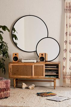 Nalia Media Console | Urban Outfitters #recordcabinet #affiliate