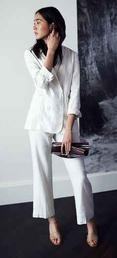 What To Wear To A Wedding: The Trouser Suit