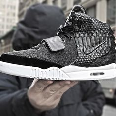 Nike Air Yeezy 2 Customs for Diddy   Complex