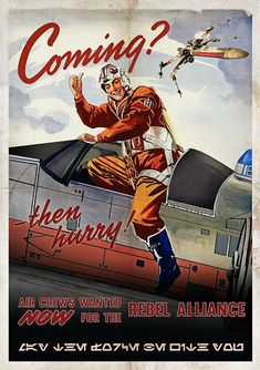 Star Wars Inspired Retro Rebel X-Wing Recruitment & Propaganda X-Wing Art Print + Postcard A4 Poster, Poster Prints, Art Prints, Star Wars Poster, Star Wars Art, Retro, Propaganda Art, Star Wars Vehicles, Star Wars Rebels