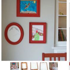 Cool Mom Picks - 5 brilliant ways to store (and display) your kids' artwork Displaying Kids Artwork, Artwork Display, Hanging Artwork, Homemade Art, Old Frames, Cheap Frames, Cool Mom Picks, Kid Spaces, Cool Gifts
