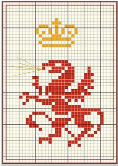 dragon cross-stitch pattern