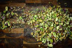 snack on pistachios