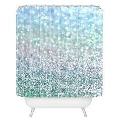 Add a dash of fun to your bathroom with the colorful Deny Designs Lisa Argyropoulos Snowfall Shower Curtain. This artistic and inventive curtain features an elegant display of a fresh snowfall darting onto the ground. Home Decor Accessories, Bathroom Accessories, Ceiling Curtains, Contemporary Shower, Modern Shower, Blue Ceilings, Lisa, Black Rooms, Shower Curtain Sets