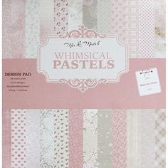 Buy Whimsical Pastels Design Pad - 12x12  online from The Works. Visit now to browse our huge range of products at great prices.