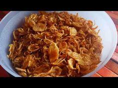 Cara Membuat Bawang Goreng Original Renyah & Awet Tanpa Tepung - YouTube