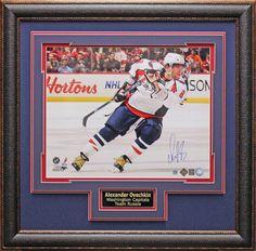 Alexander Ovechkin Washington Capitals Autographed Framed Photo | Signed Photos, Puck, Stick, Jersey, Hockey Memorabilia