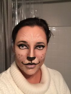 Polar Bear Makeup Halloween 2016