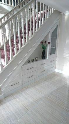 Image result for under stairs kitchen storage ideas