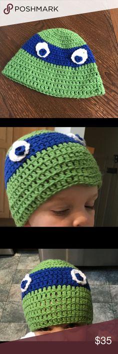 Crochet Ninja Turtle Patterns Pinterest Ninja Turtle Hat Ninja