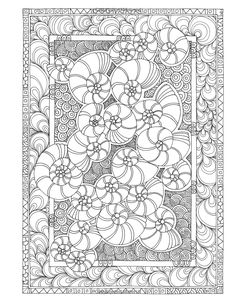 Amazon.com: Angela Porter's Zen Doodle Designs: New York Times Bestselling Artists' Adult Coloring Books (9781944686024): Angela Porter: Books