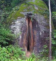 This Volcanic Vulva is listed (or ranked) 2 on the list Accidental Vaginas in the Wild Sacred Feminine, Tantra, Erotic Art, Amazing Nature, Real Nature, Mother Earth, Flora, Beautiful Places, Scenery