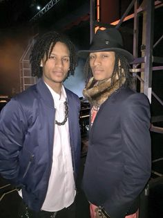 Les Twins looking our best for a charity performance. Eleven Paris