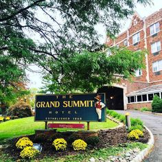 """The elegant Tudor-style historic Grand Summit Hotel 1929 originally The Blackburn House in """"Hill City"""" and """"Newport of New Jersey"""" as Summit was known. For more information on this modernized venue near Newark Airport Short Hills Mall and New York City visit: grandsummit.com. #SummitNJ #GardenState #events #family #friends #wedding #ValentinesDay #travel #travelgram #instatravel #weekend #vacation #nyfw #fashion #style"""