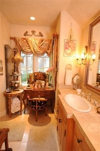 How to make a not so huge bathroom look like a million bucks