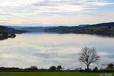 Lac de Saint Point. France.