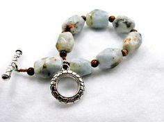Light blue semiprecious stone chocolate by ZoilaBelleCreations, $40.00