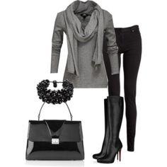 Black & Gray Classy Comfy