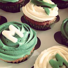 Macmillan Coffee Morning Cupcakes-vanilla flavour. Wear a green ribbon!! Please donate