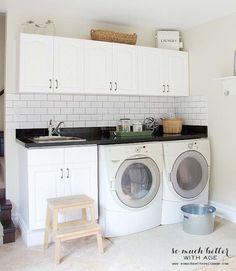 Cupboards | 11 Practical Laundry Room Organization Hacks | Living Room Ideas