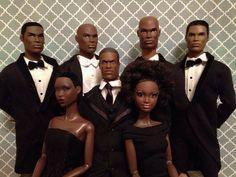 Black Barbies & Ken