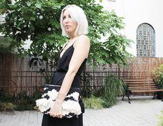 Weekday Dress, Black, Outfit, ootd, lotd, Look, Style, Wedges, Mango, Clutch, Bloggerstyle, Blog, stryleTZ