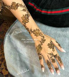 Modern Henna Designs, Basic Mehndi Designs, Latest Henna Designs, Floral Henna Designs, Arabic Henna Designs, Mehndi Designs For Girls, Mehndi Design Photos, Wedding Mehndi Designs, Beautiful Henna Designs