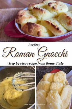 Step by step, easy recipe to make Roman Gnocchi, a delicious vegetarian dish from Rome, Italy. Learn how to make Roman Style Gnocchi (Gnocchi Alla Romana) with this easy to follow recipe by a Rome mom Gnocchi Alla Romana Recipe, Gnocchi Recipes, Vegetarian Dish, Vegetarian Entrees, Healthy Italian Recipes, Delicious Recipes, Oven Dishes, Side Dishes, Kitchens