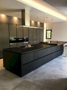 Luxury Kitchen Design, Kitchen Room Design, Kitchen Layout, Interior Design Kitchen, Kitchen Designs, Kitchen Nook, Diy Interior, Modern Interior, Interior Architecture