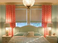 Luscious bedrooms - mylusciouslife.com - seafoam green and coral