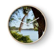 River Murray, Renmark, South Australia. Clock