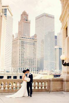Boda a la vista » La decoración más chic para una boda urbana
