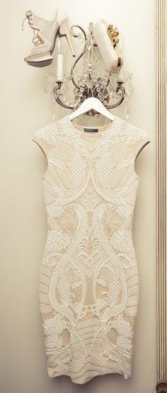 Alexander McQueen. Engagement Party Dress.