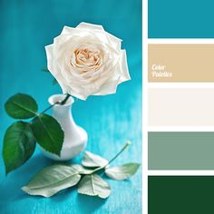 """dusty"" brown, beige, Blue Color Palettes, color combination, color palette, color selection, color solutions, green, the color of roses, the color of the grass, the color of the leaves of palm trees, the color of the sea, the color of the sky."