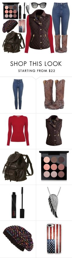 """""""4.11"""" by believe-dream-inspire ❤ liked on Polyvore featuring Old Gringo, Oasis, Joules, MAC Cosmetics, Smashbox, Jewel Exclusive, Steve Madden, Casetify and Burberry"""